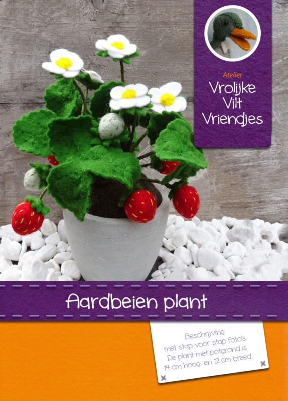 Patroon Aardbeienplant