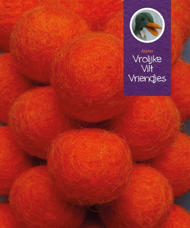 Wolbal oranje