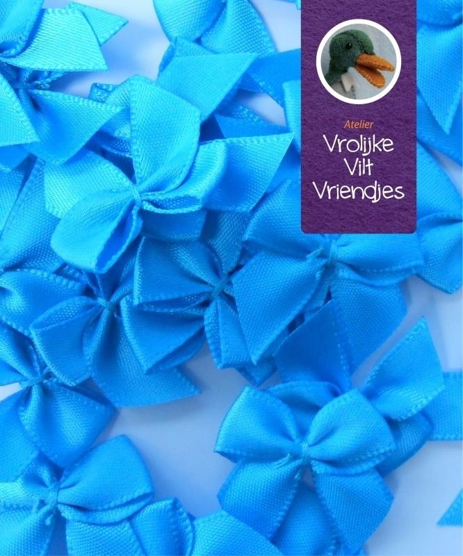 Strikjes blauw 3 stuks