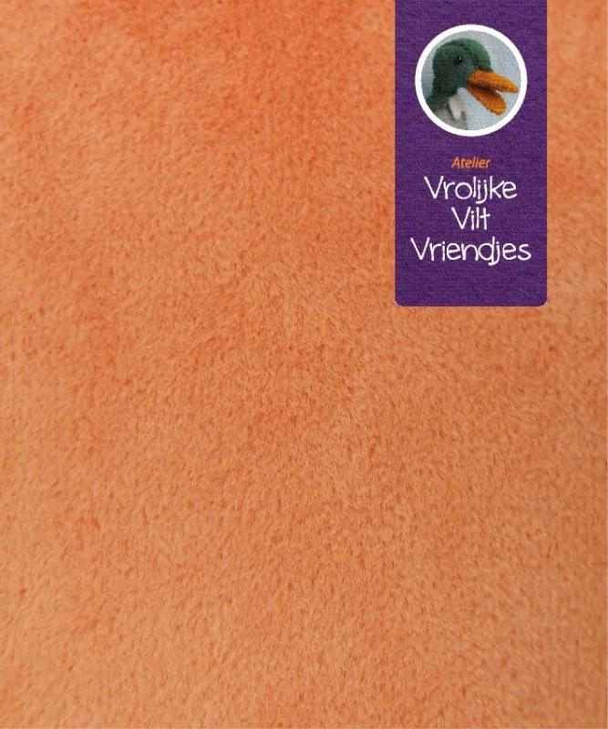 Koraal stof oranje