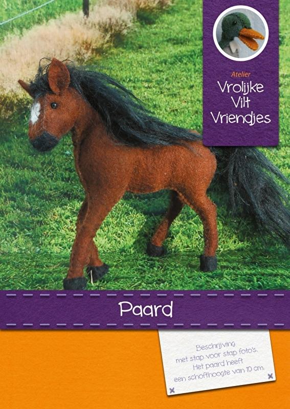 Paard donkerbruin