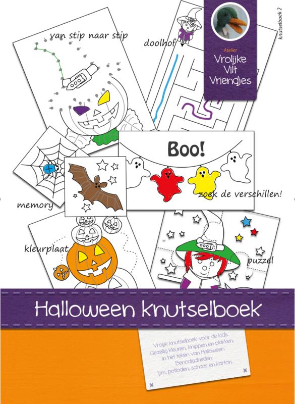 Halloween knutselboek