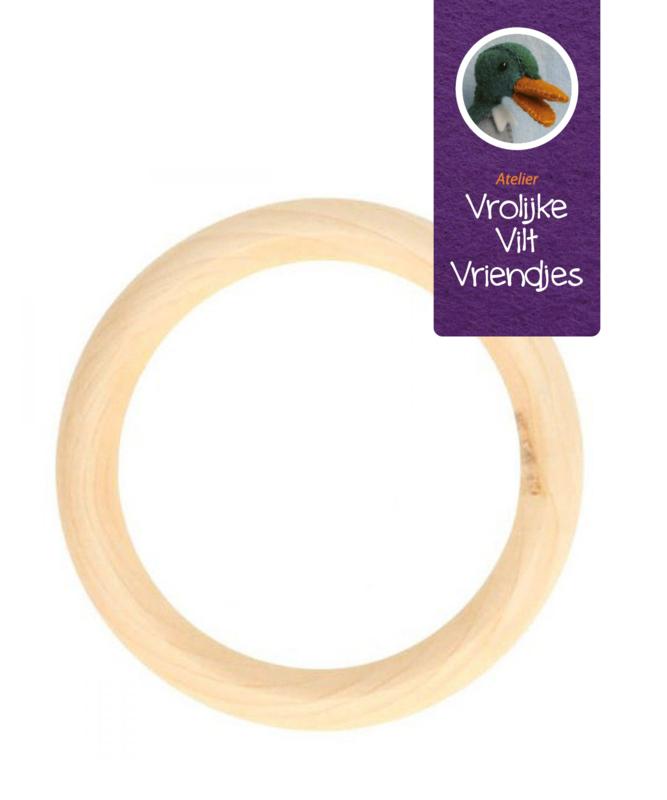 Houten ring 70 bij 10 mm