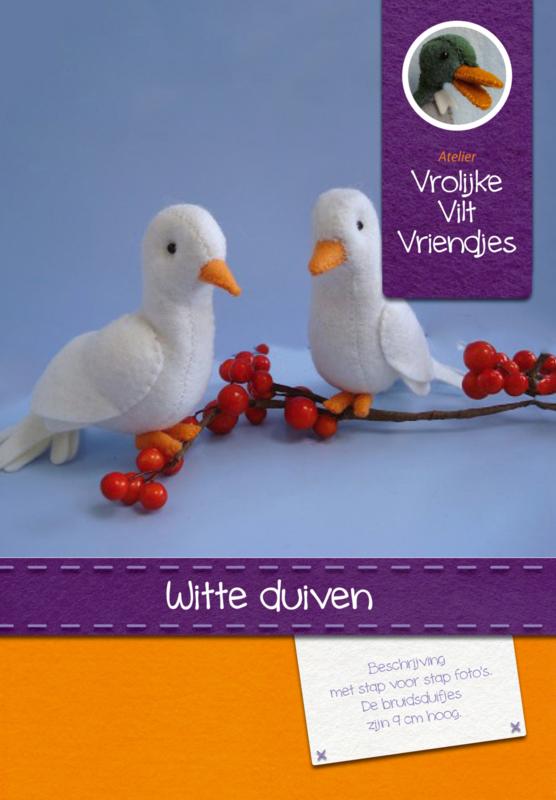 Witte duifjes