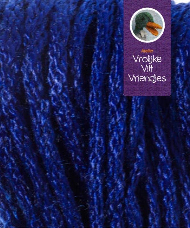 Blauw  splijtgaren