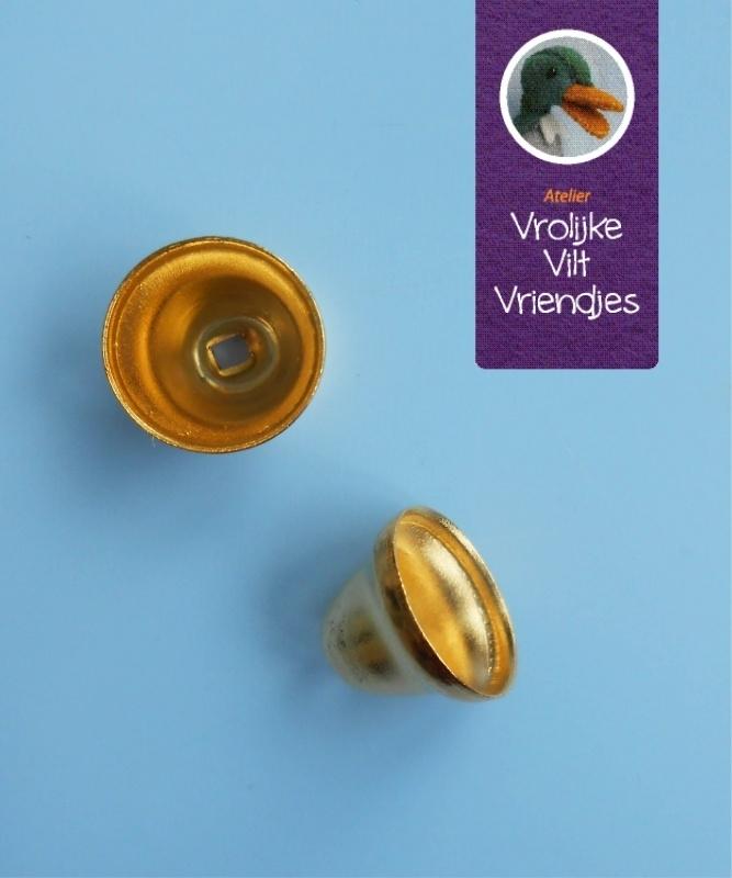 Kommetje goudkleurig 8 mm