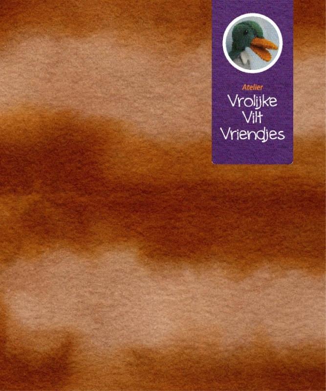 Sprookjesvilt  bruin- beige (haashanger)