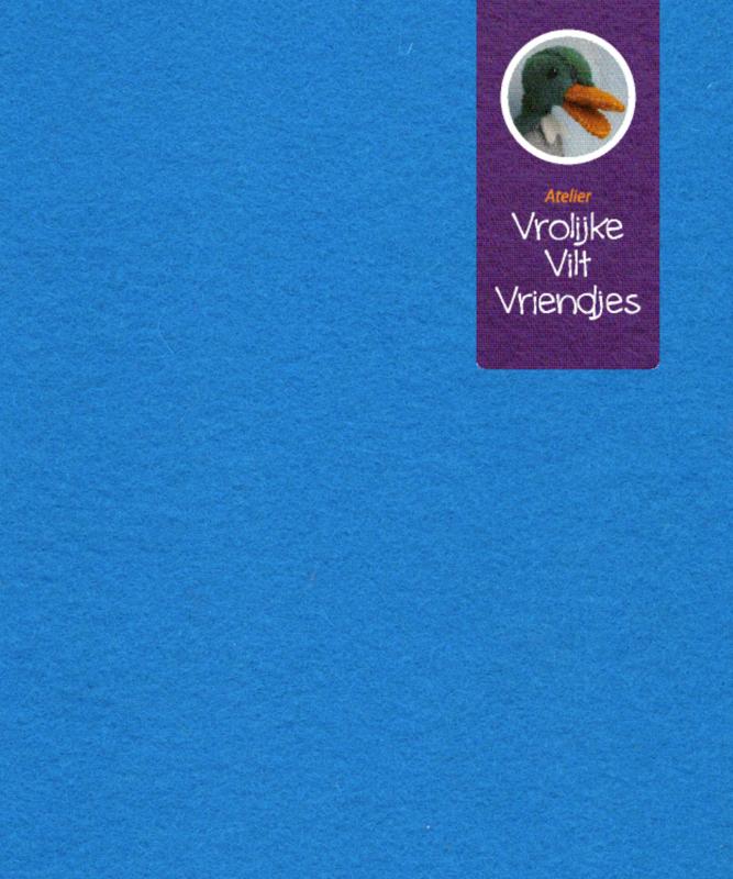 Turquoise wolvilt fel