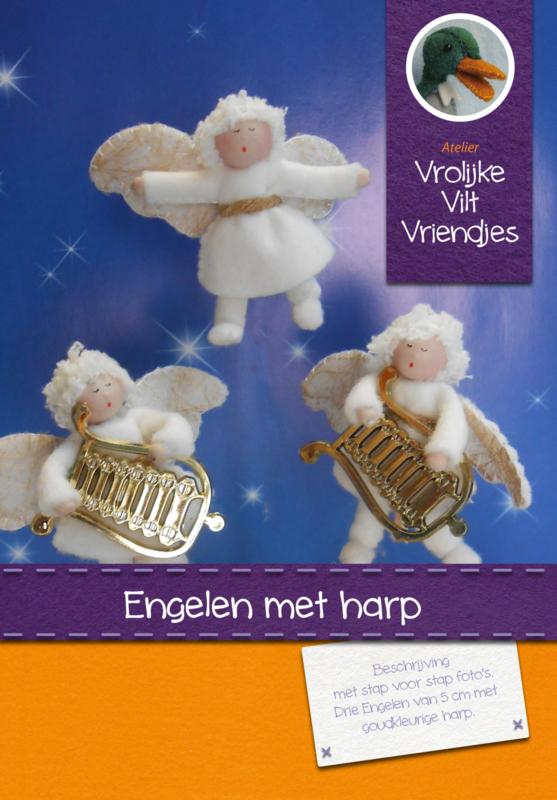 Engelen met harp