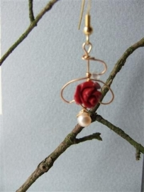 062 Rose made of coral E20,-