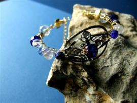 A43 Vintage ornament verwerkt in mooie armband