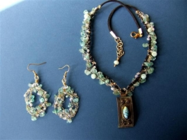 198A and 198 B Apatite necklace