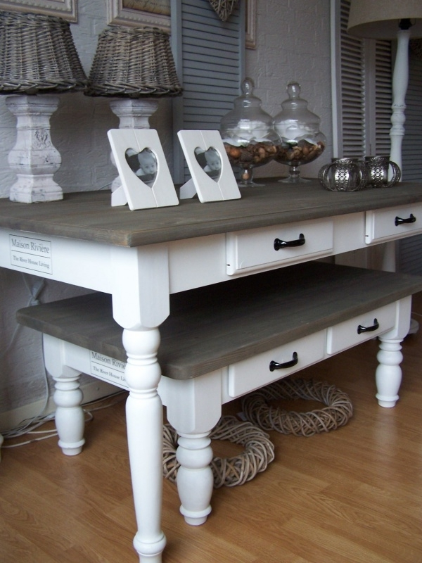 Eet Tafel Salon Tafel.Verocht Eettafel Salontafel Maison Riviere Meubel Set