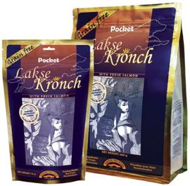Lakse Kronch 85% zalm pocket snacks