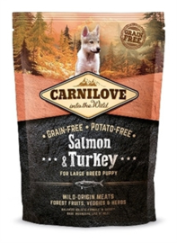 Carnilove Salmon/Turkey Puppy Large Breed