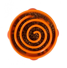 Fun Feeder Slo-Bowl Regular/Large Oranje