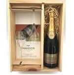 Champagne Henri Mandois 1er Cru met 2 glazen - in geschenkkist