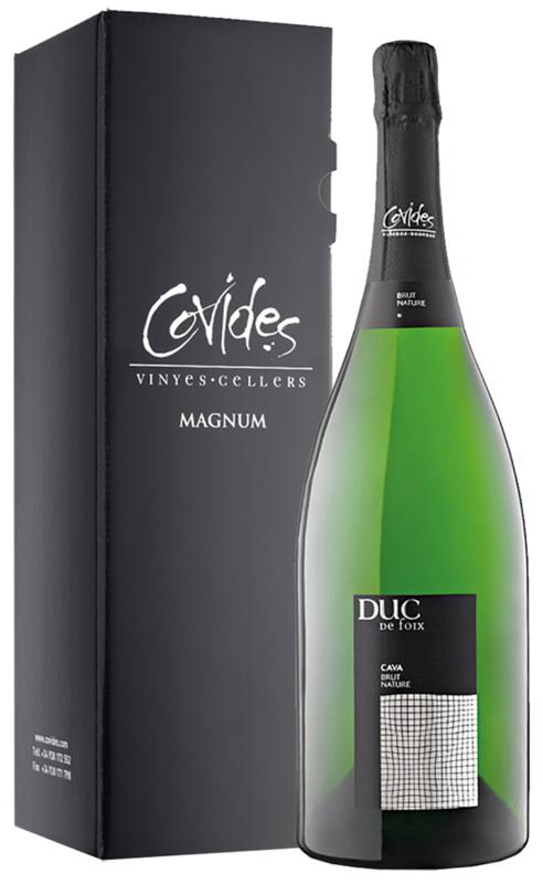 Cava Duc de Foix Brut Magnum - in luxe geschenkkoker