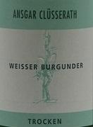Weisser Burgunder - Ansgar von Clüsserath