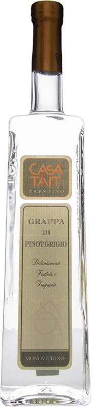 Grappa di Pinot Grigio - Casa Tait - 0.5L