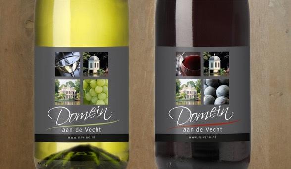 fles wijn eigen etiket