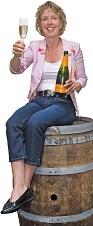 Gerdine van Loon sommelier verkoopt wijn