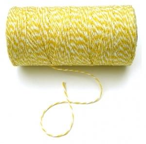 Bakkerstouw geel