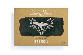 Annie Sloan Stencil CLASSICAL BIRD