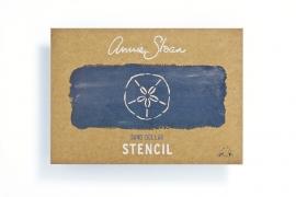 Annie Sloan Stencil SAND DOLLAR