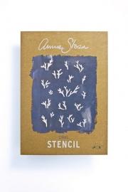 Annie Sloan Stencil CORAL