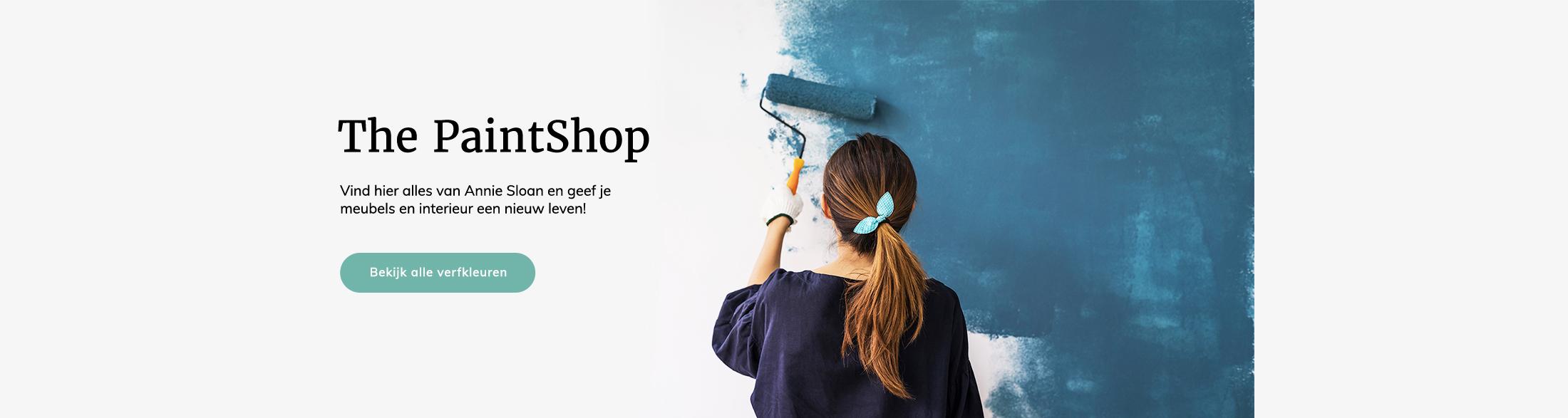 The paintshop - Anniesloan verf