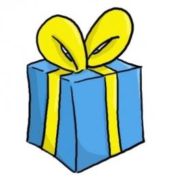 Cadeauverpakking - Verjaardag