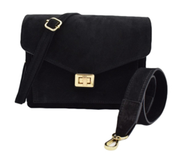 BEAU BAG BLACK GOLD/SILVER