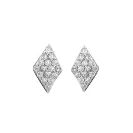 STUD ZIRCONIA SILVER DIAMOND