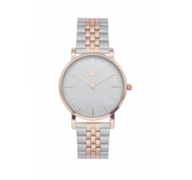 IKKI WATCH - JAMY SILVER ROSE GOLD JM21