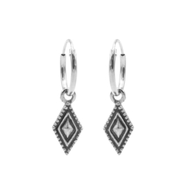 HOOPS DOTTED DIAMOND