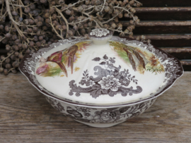 Dekschaal Groenteschaal Palissy Game Series, Royal Worcester