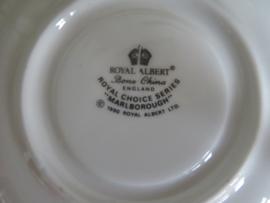 Dames kop en schotel Royal Albert, Marlborough