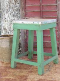 Oude Franse houten kruk