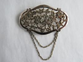Zilveren broche 835/1000, 2e gehalte zilver