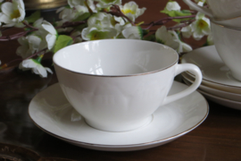 Set van 4 kop en schotels Hebei Porcelain China