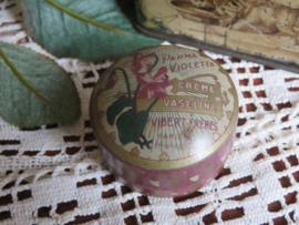 Oud vaselineblikje Vibert Frères Paris Parma Violetta