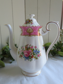 Koffiepot Royal Albert Lady Carlyle, 22 cm