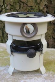 Petroleumstel Beccon mini, 1-pits, roomwit / zwart