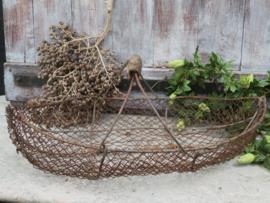 Oude Franse plukmand draadmand