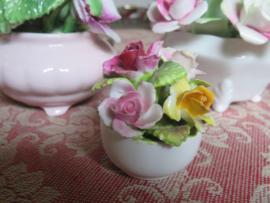 Porseleinen rozenboeketje Coalport England