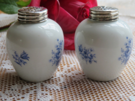 Oud porseleinen peper en zoutstel Bavaria Gerold Porzellan
