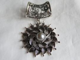 Sjaal speld zilver