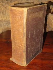 Antieke bijbel gebedenboek uit 1891