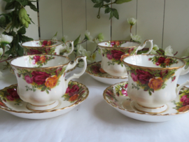 Heren kop en schotel Royal Albert Old Country Roses
